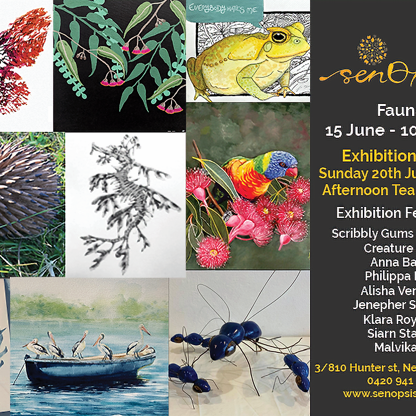 Fauna Exhibition Opening