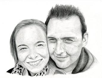 Lovers - Couple's Portrait