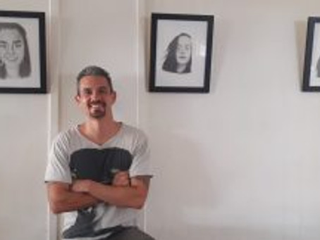 Second art exhibition on display