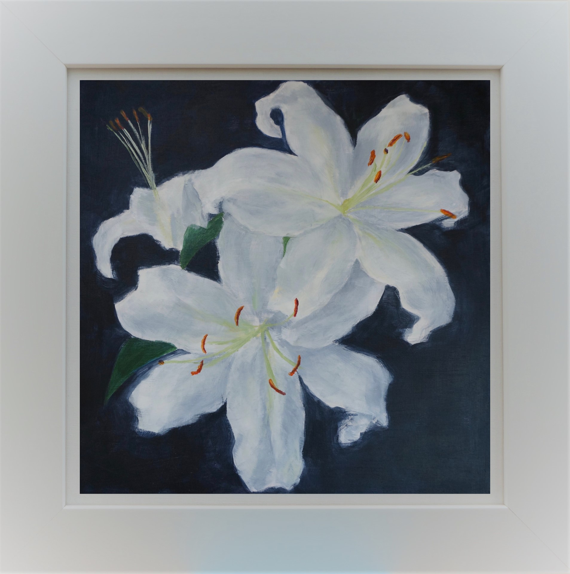 Two Lilies in Frame 3b