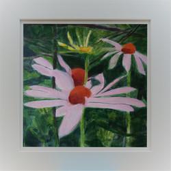 Garden Flowers in Frame 3b