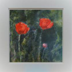 Poppies in Frame 3b