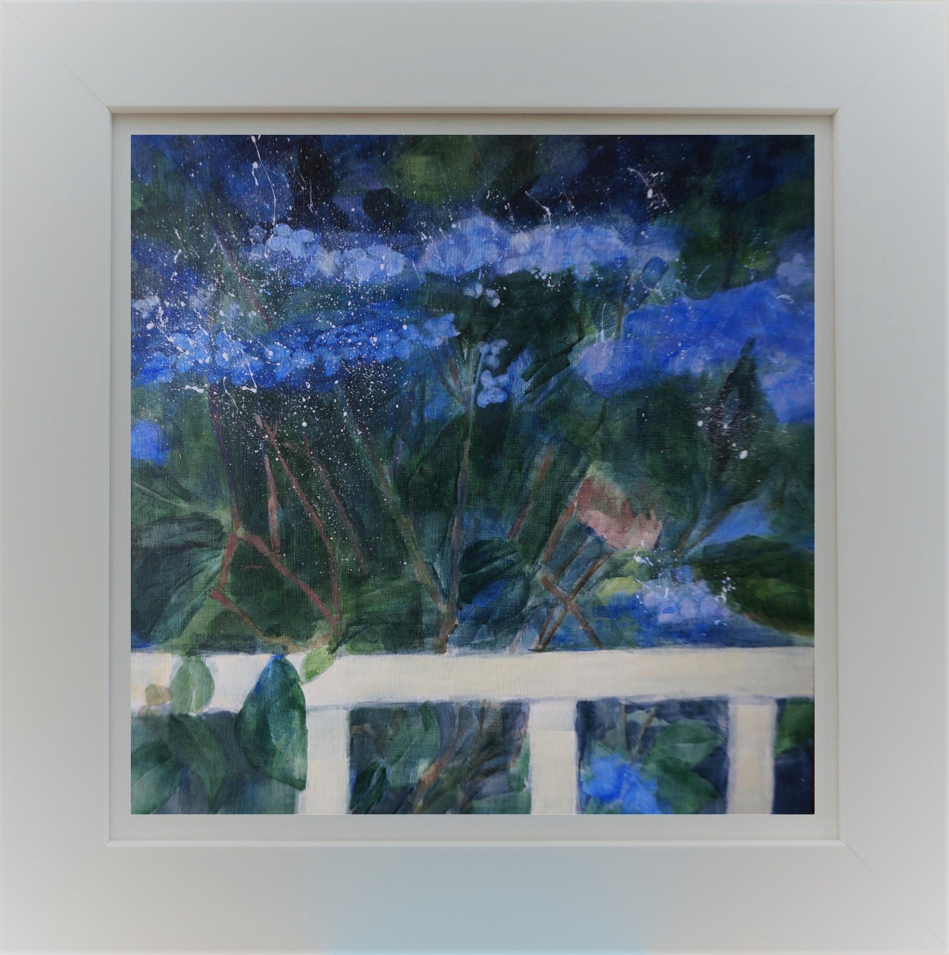 Blue Bush in Frame 3b