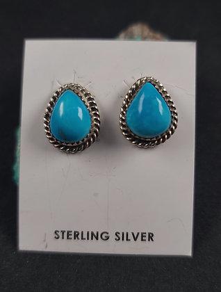 Sterling Silver Morenci  Earrings (J0100)