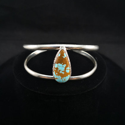 Sterling Silver Royston Ribbon Bracelet (J0087)
