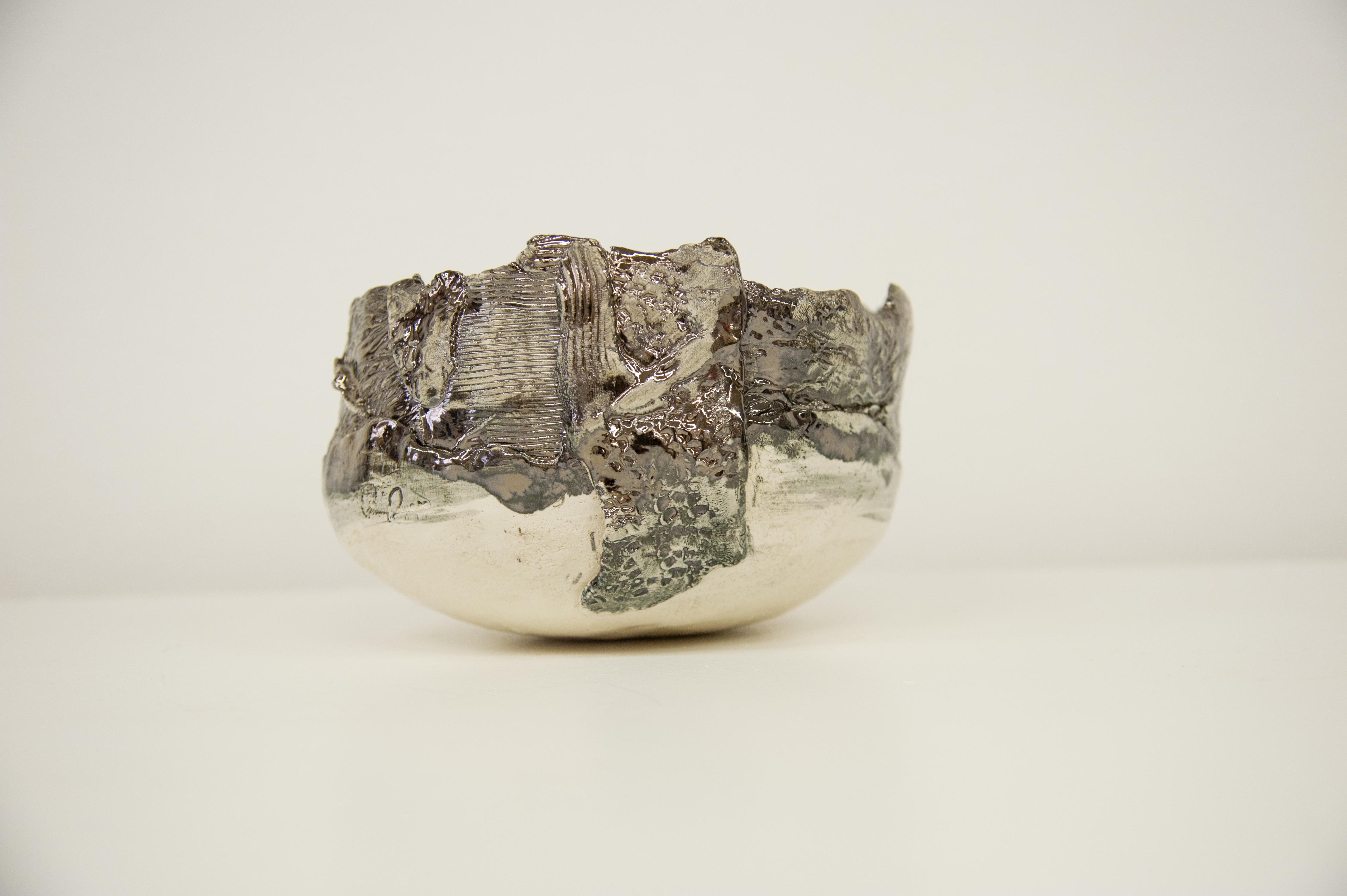 Ciotola in ceramica con fascia