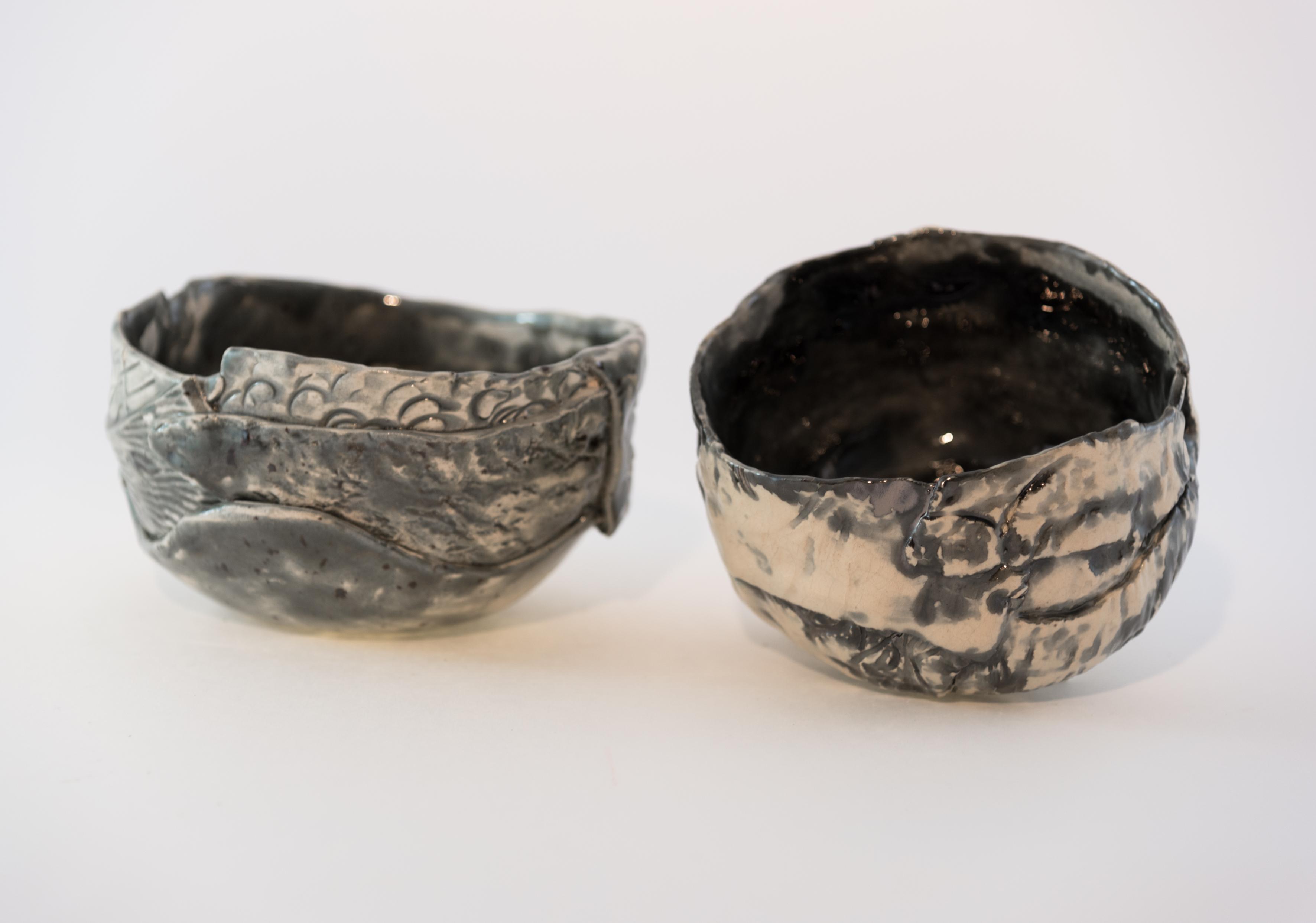 Ciotola in ceramica maculata
