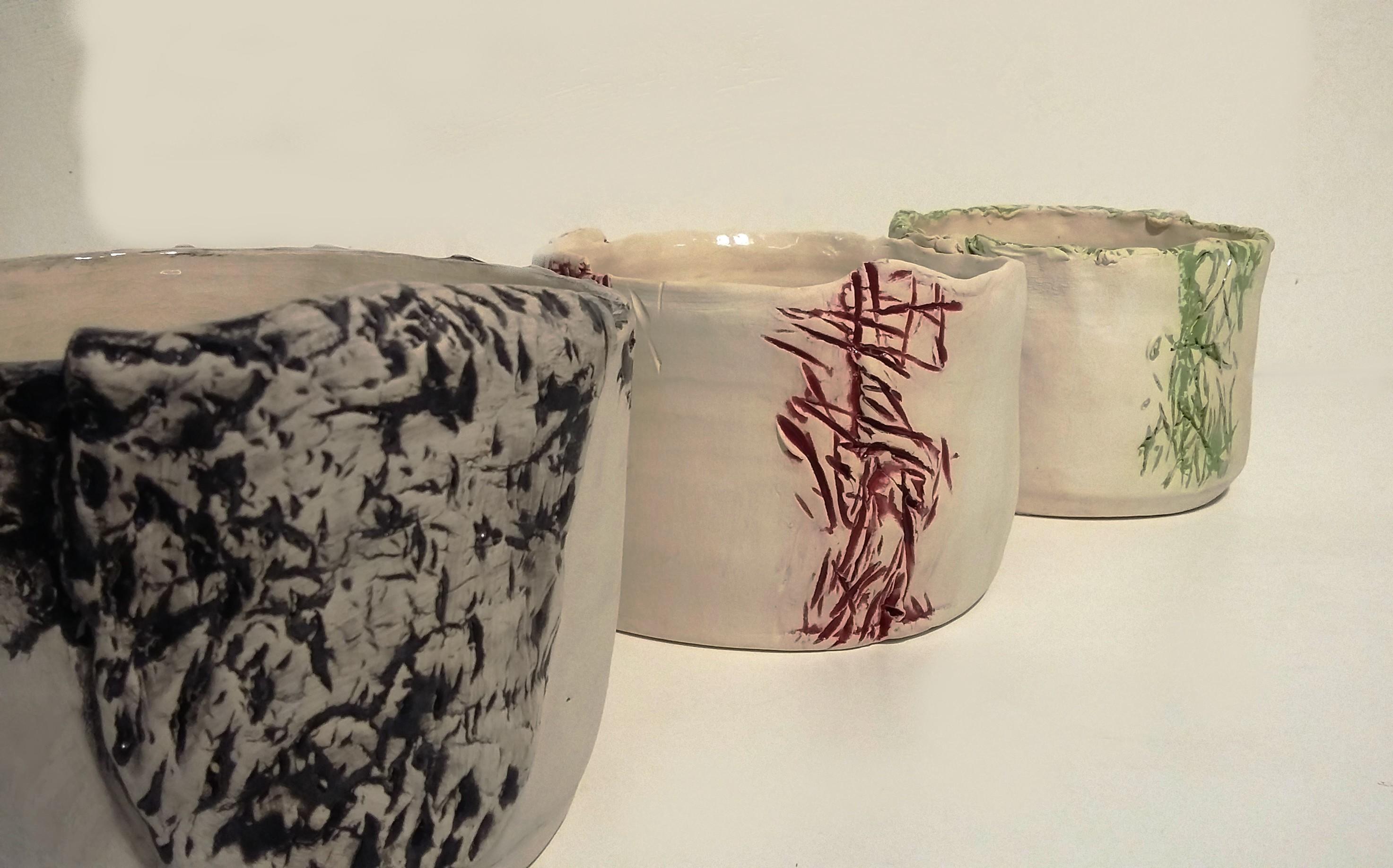 ciotole in ceramica basse