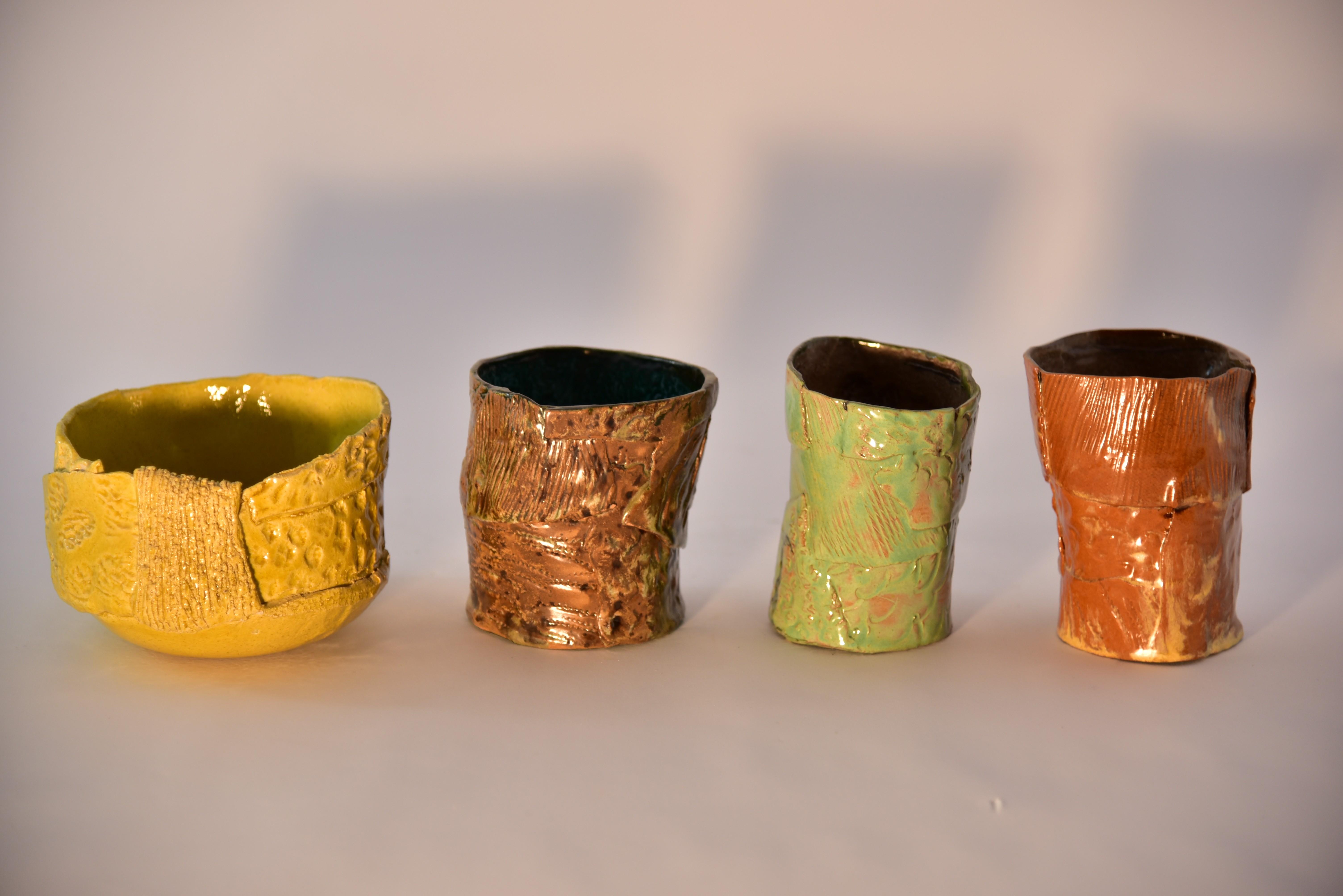 vasi in ceramica piante piccoli