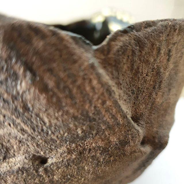 Ciotola in ceramica smalto roccia