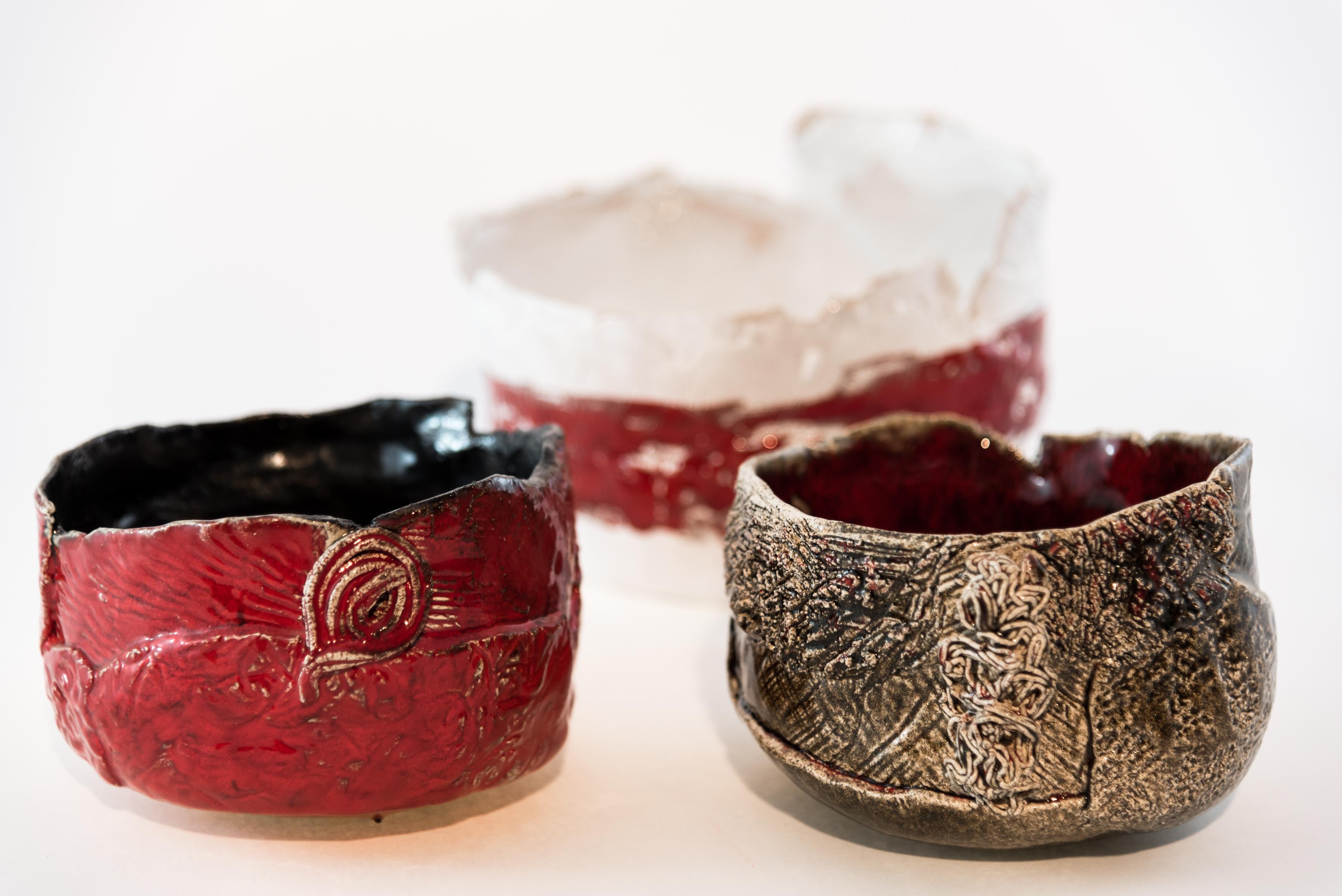 Ciotola in ceramica rossa