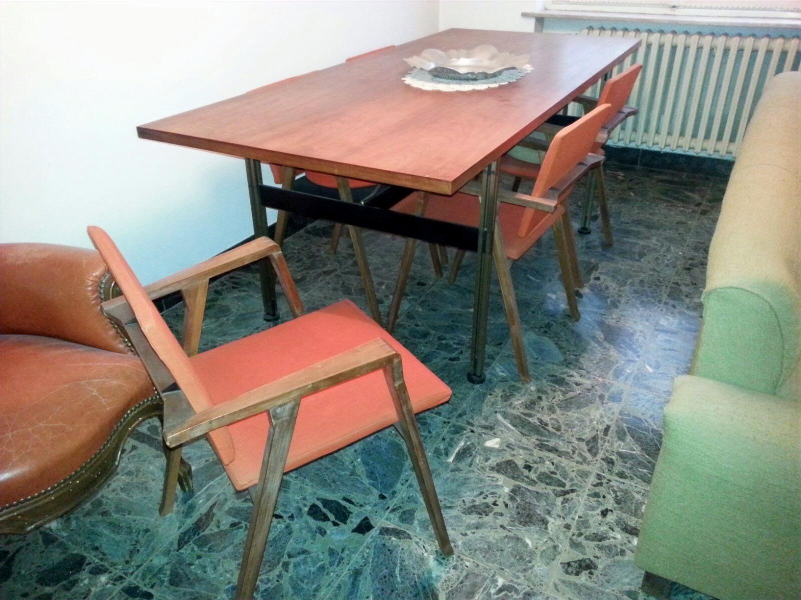 Restauro di Tavolo di Franco Albini