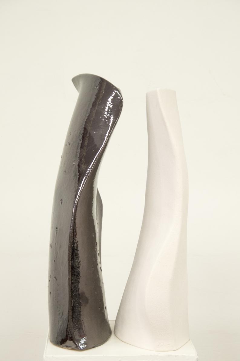 Vaso in ceramica coppia