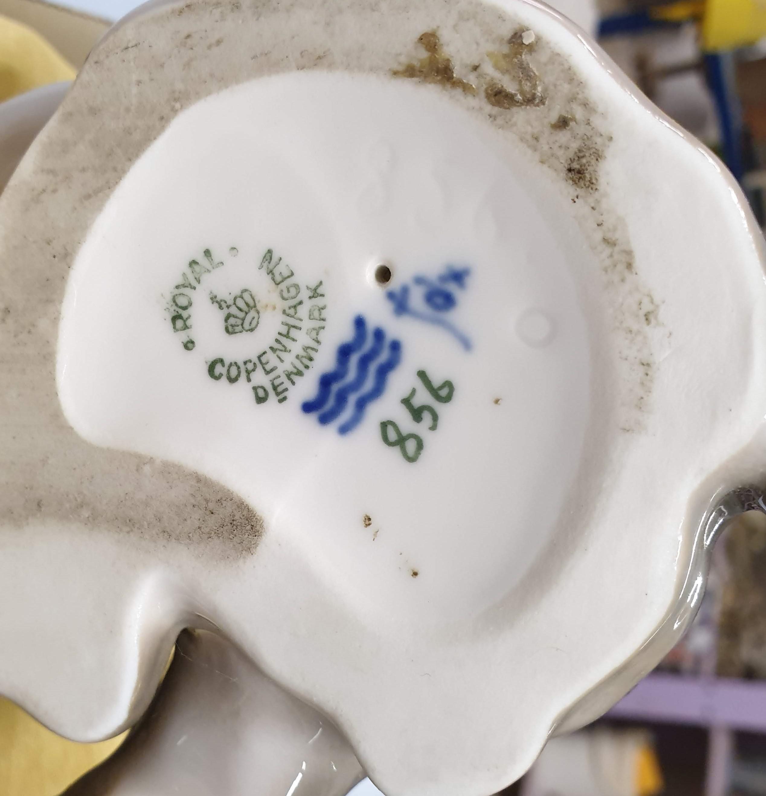 Restauro ceramica Royal Copenhagen