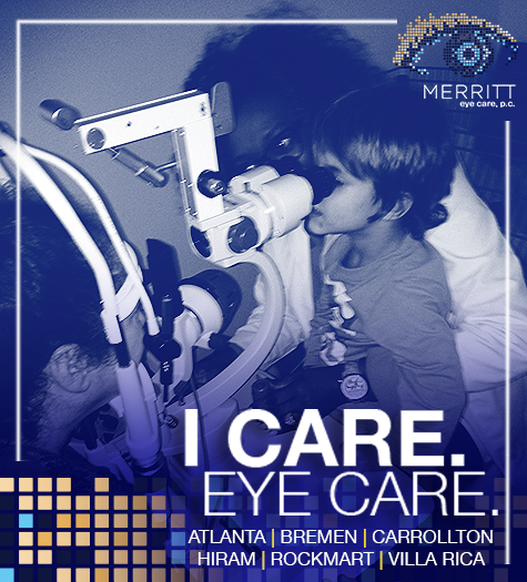 Merritt Eye Care social media post
