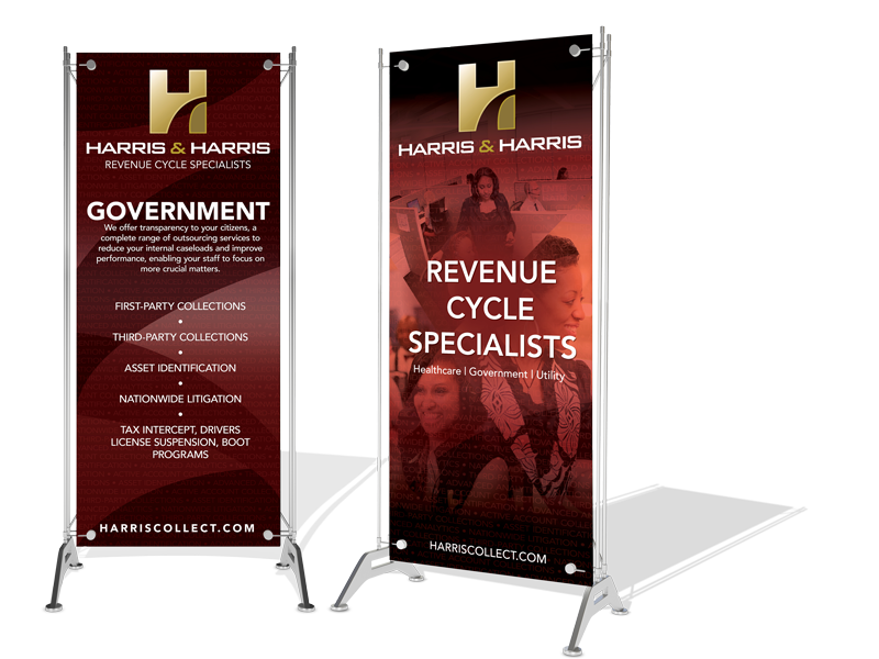 Tradeshow banners for Harris and Har