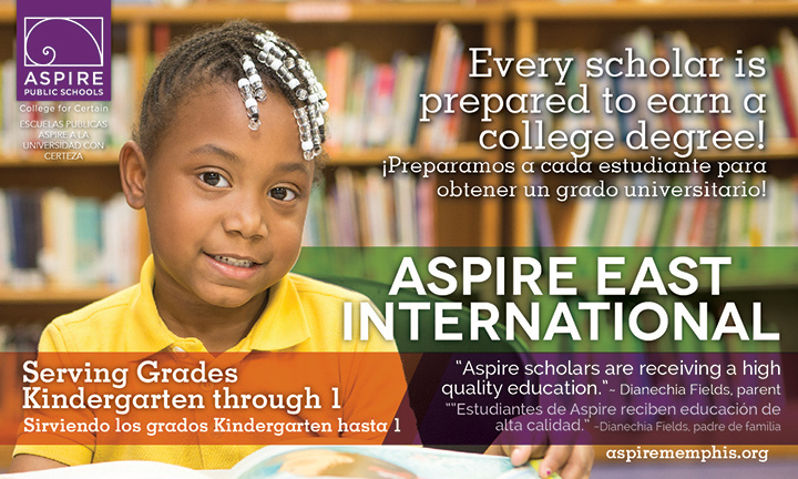 Aspire East Recruit Flyer