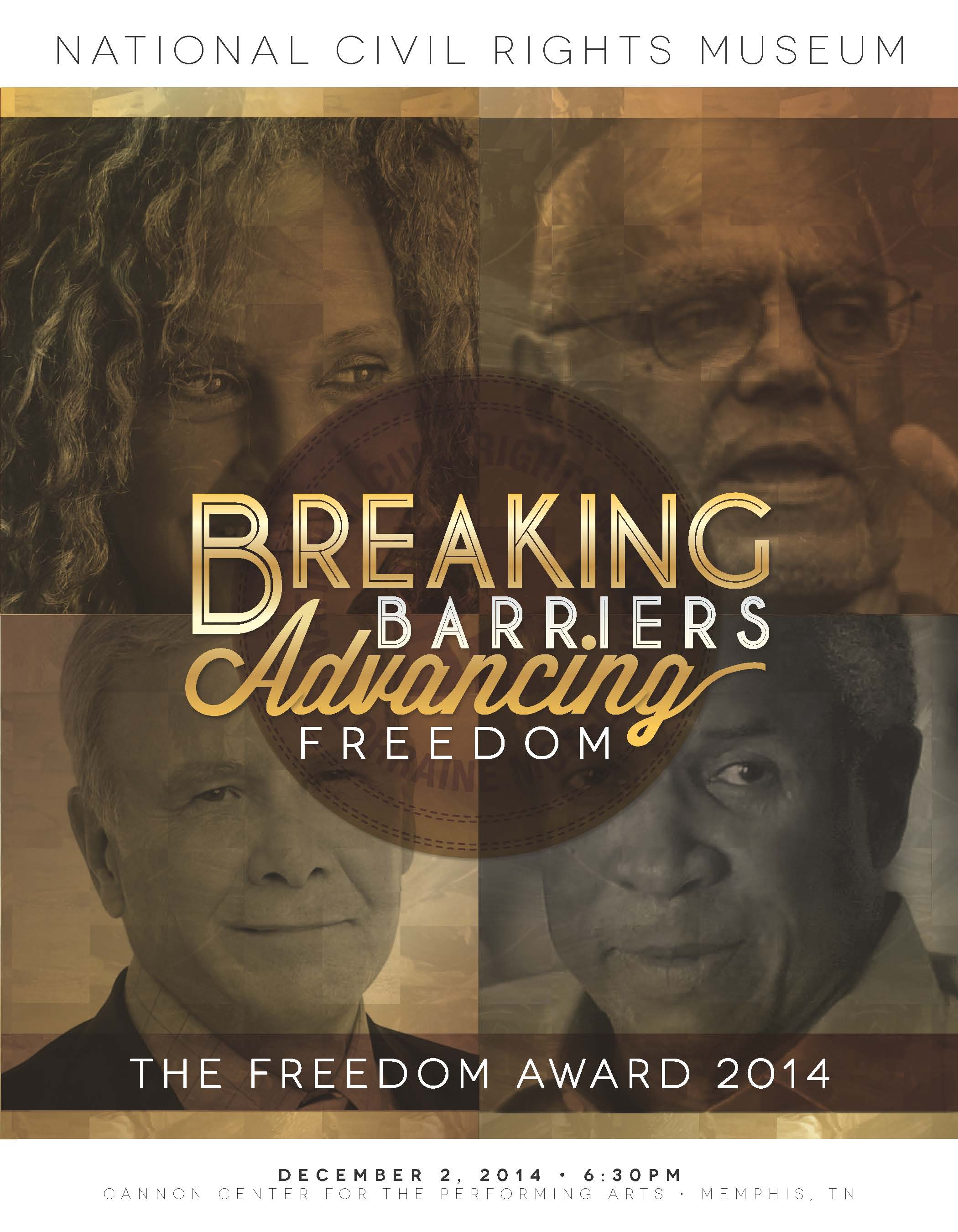 Freedom Award 2014 NCRM Program Cover