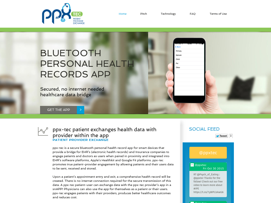 PPX-TEC Web design