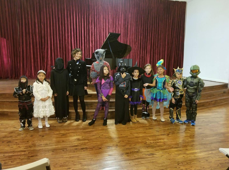 Halloween Recital