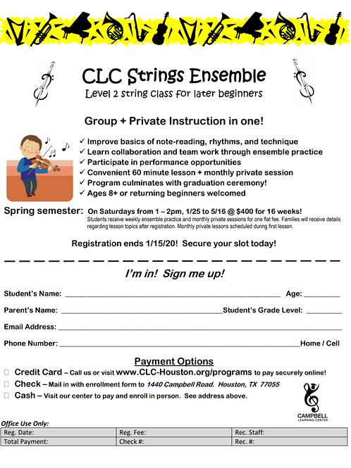 CLC Strings Ensemble
