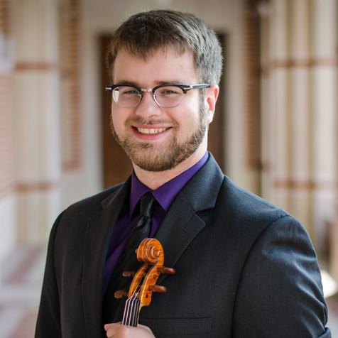 Jacob Schafer, DMA - Violin, substitute