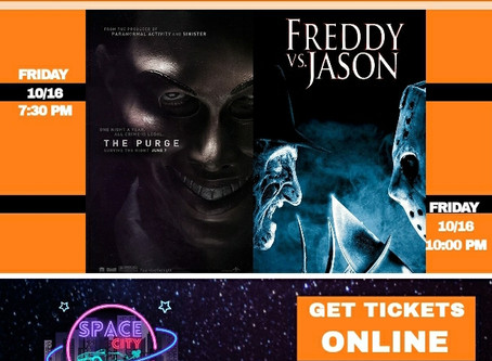 Get Your Scary Movie Fix All October at Space City Drive-In!