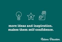 RELAXX MORE IDEA.