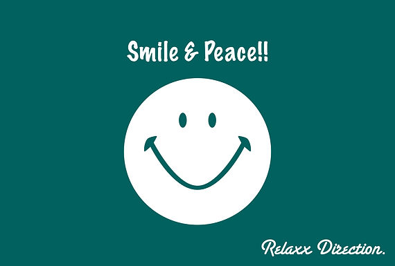 I hope and peace of the world smile.