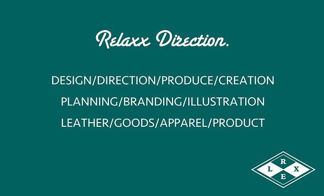 2014.4 Relaxx Direction.設立&運営スタートしました。