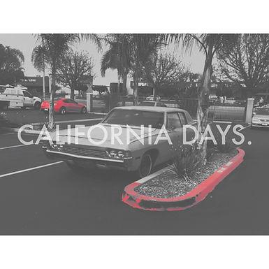 CALIFORNIA DAYS.開催決定!
