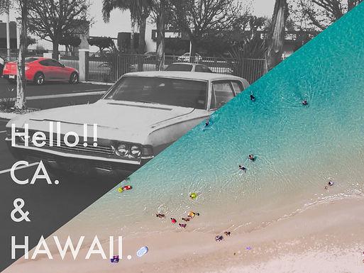 Hello!!CA.&HAWAII.<写真アート展開催決定>