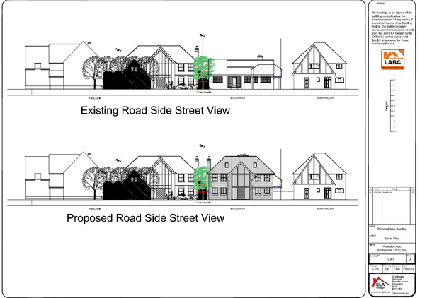 Proposed Street View