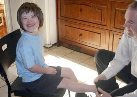 The Feuerstein Institute and their work with children with Down syndrome.