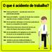 O que é acidente de trabalho?