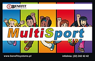 Akceptujemy karty Multisport Kids