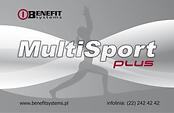 Akceptujemy karty Multisport Plus