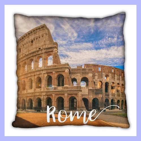 Rome Themed Pillow