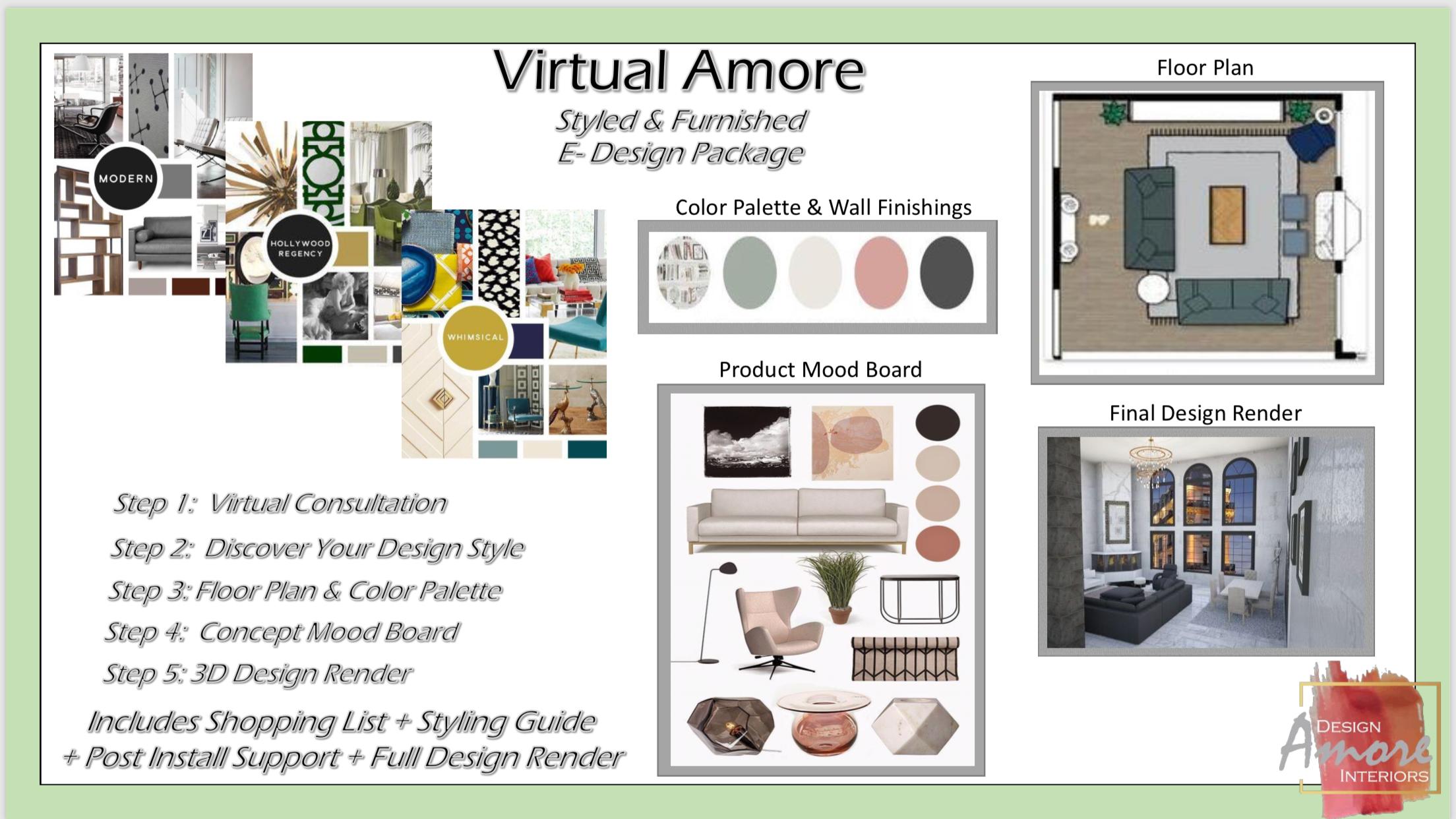 Virtual Amore E-Design Studio