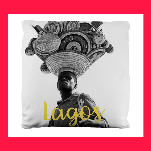 Lagos Themed Pillow