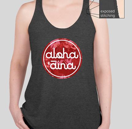 Aloha ʻĀina 'A'ali'i  Tank (PREORDER SHIPS 8/9/21))