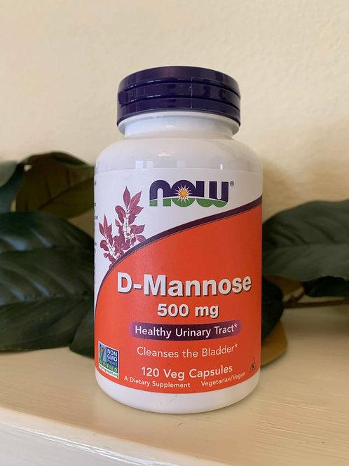 D-Mannose 500mg Capsules
