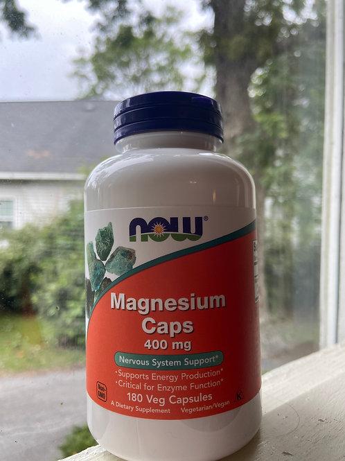 Magnesium Caps 400mg
