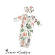 Queen Maddyn 0-3 Month Gown Blooming Floral