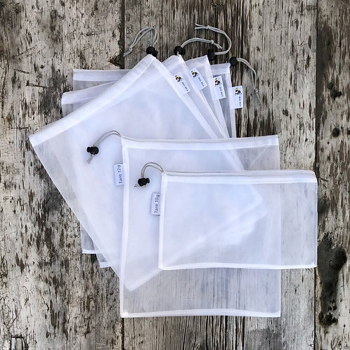Big Bee Little Bee Reusable Produce Bags