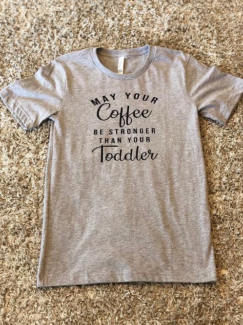 Mama shirt- Coffee