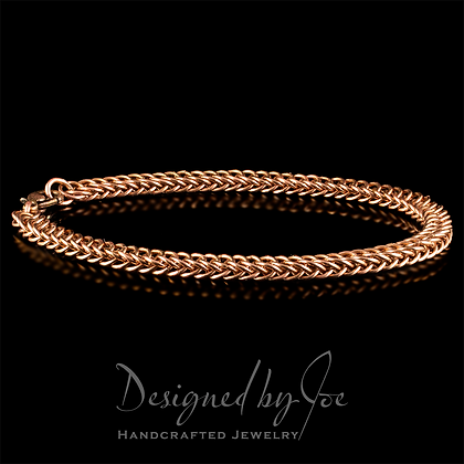 Half-Persian Chainmaille Bracelet