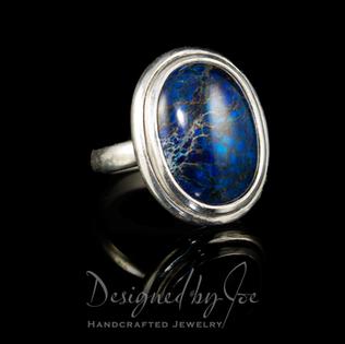 Swiss Blue Lapis Ring