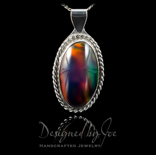 Aurora Opal Pendant