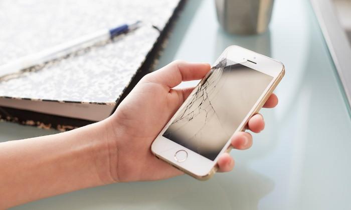 cracked iphone izeek